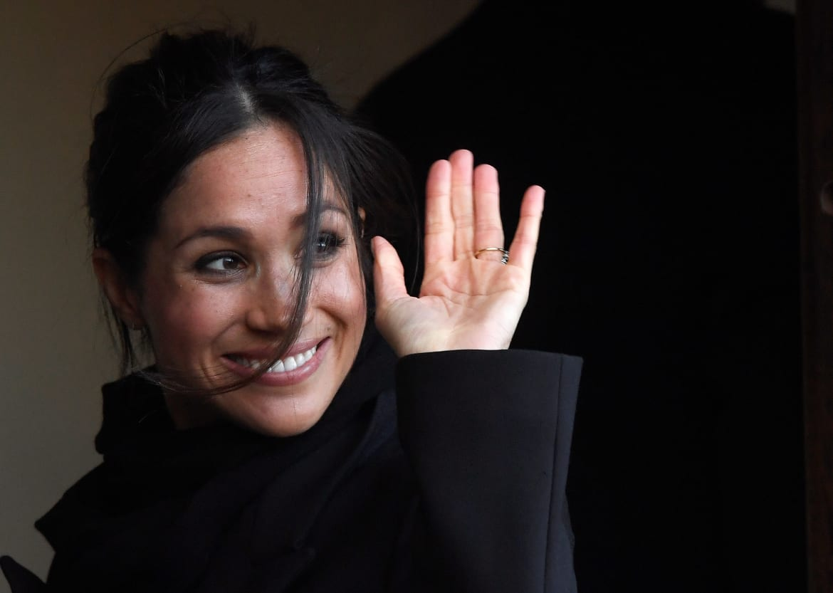 Meghan Charms Wales While William Shaves His Head