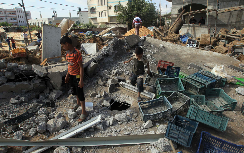 Palestinian Children Suffering