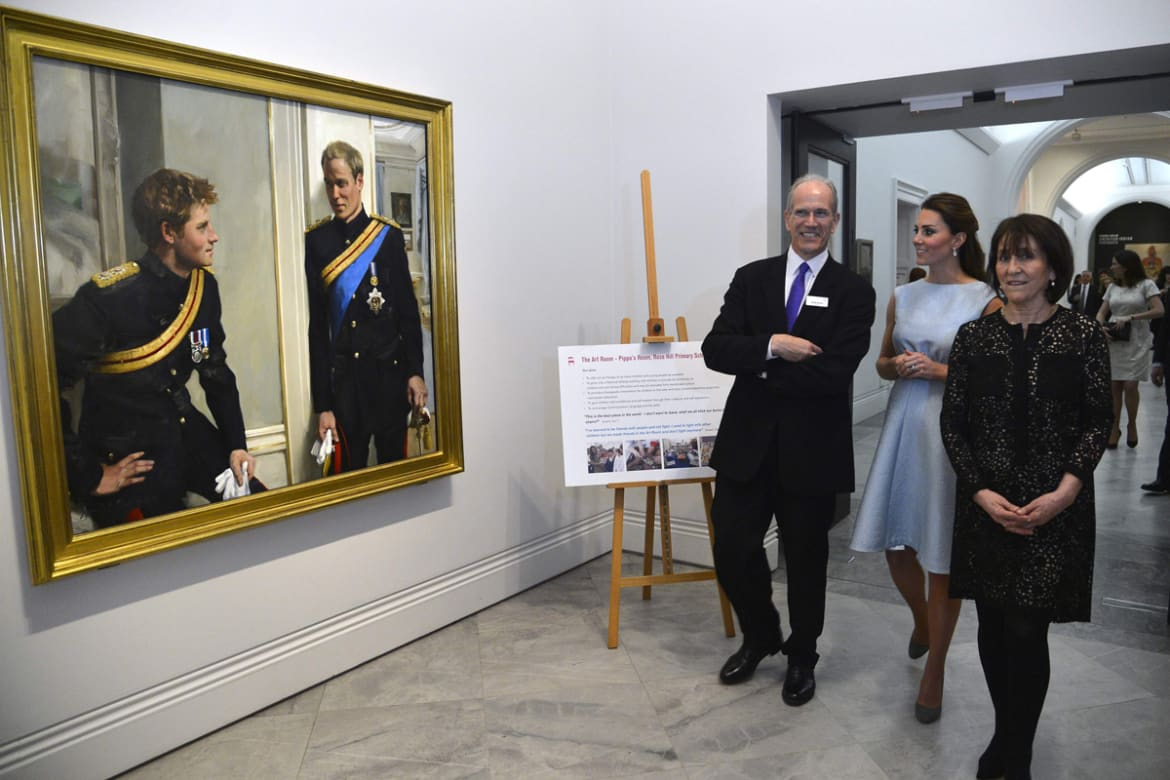 Kate wears her first maternity dress kate has resisted wearing maternity gear up till now preferring like many expectant mums to carry on wearing regular clothes for as long as possible ombrellifo Gallery
