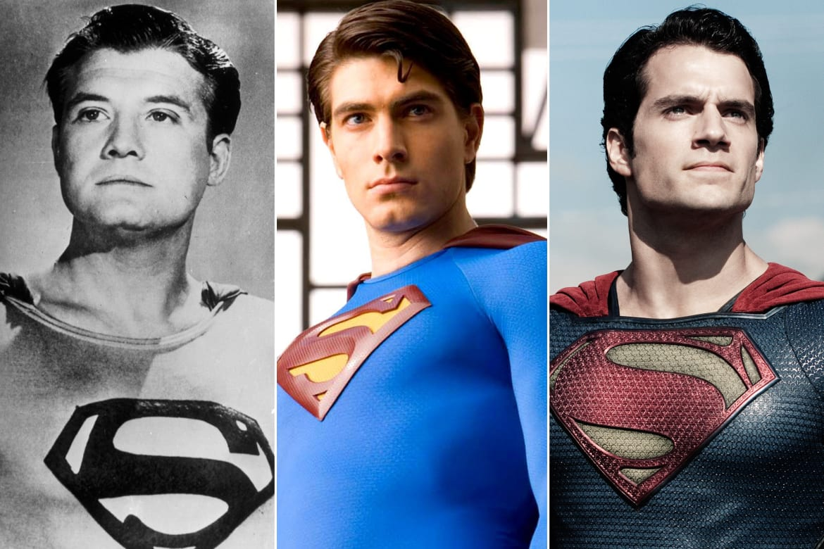 To George Reeves The First Actor Portray Beloved Superhero On Screen In 1951s Superman And Mole Men All Way Up Brandon Routh