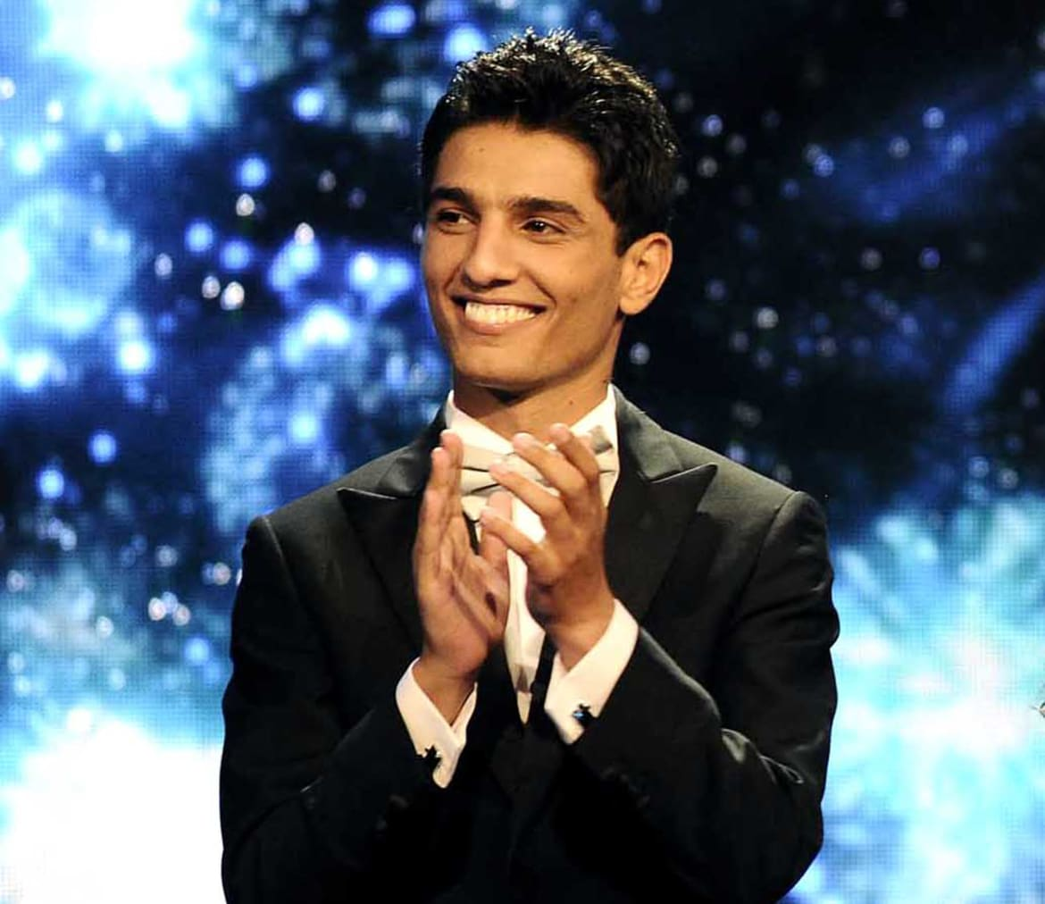 Assaf The Palestinian Wedding Singer Whom Superstar Judge Ragheb Alama Lovingly Nicknamed Rocket Of Love And Peace From Gaza Was Without A Doubt