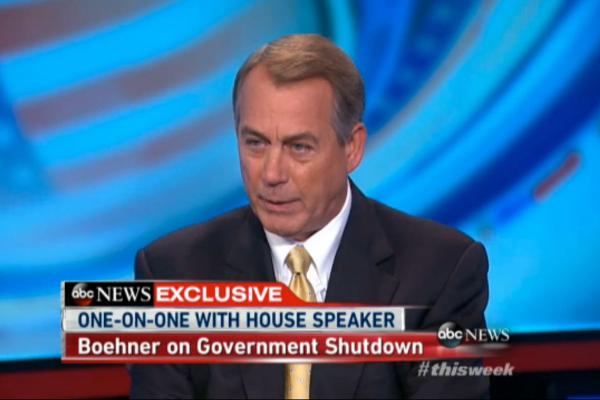 Obamacare Quotes Five Boehner Quotesfrom One Interviewthat Explain Everything