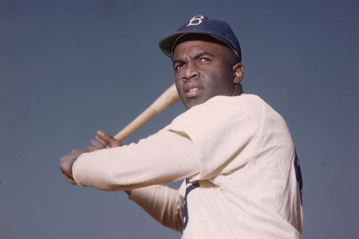 Image result for jackie robinson in color