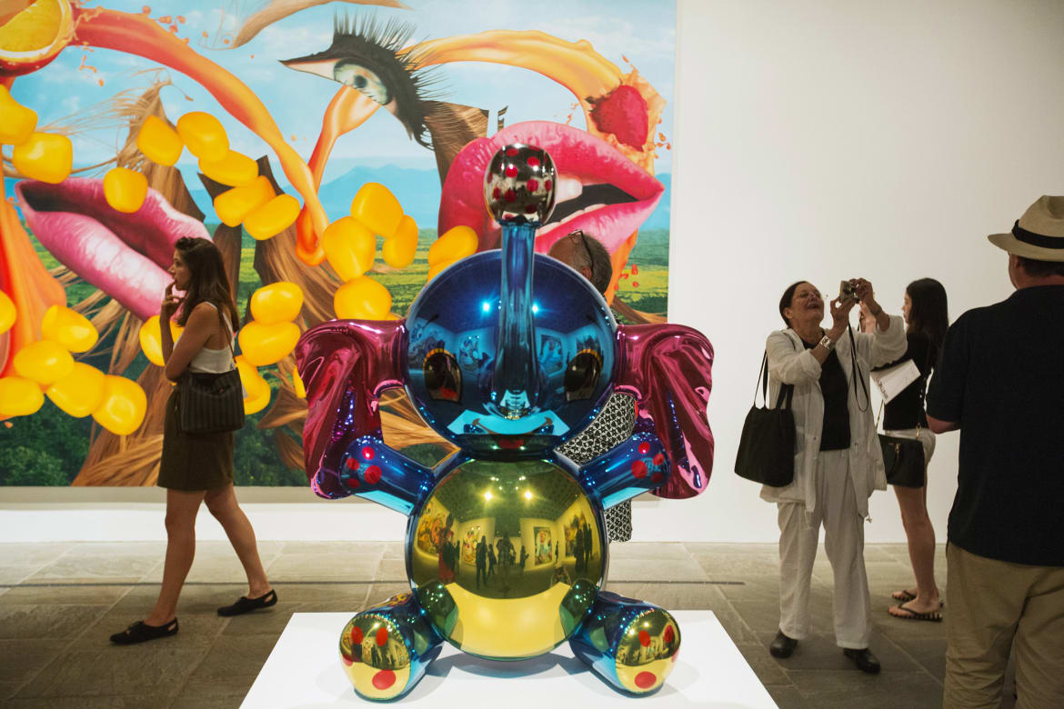 Koons, the master of kitsch, is not just another mainstream artist—he's one  of the world's most successful. This year alone his sales have totaled over  $112 ...