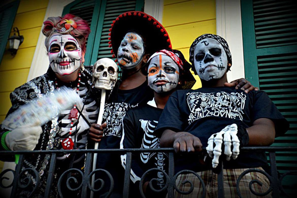 New Orleans' Carnivalesque Day of the Dead