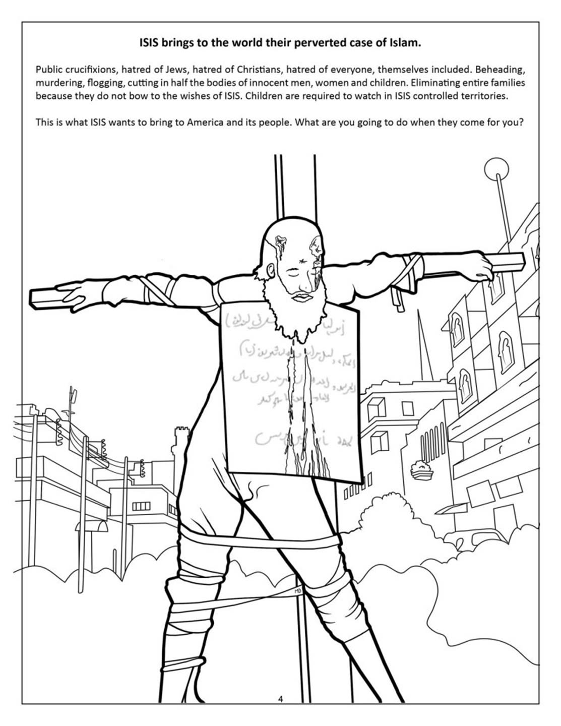 Ted Cruz saves America in This Right-Wing Coloring Book