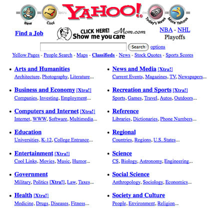 Flashback Retro Web Sites