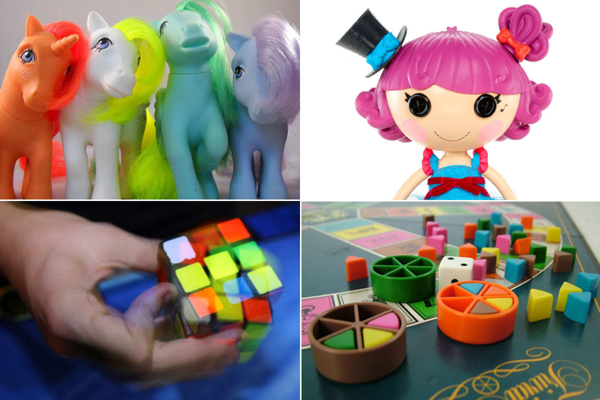 Popular Christmas Toys : Most popular christmas toys from cabbage patch kids to rubik s cube