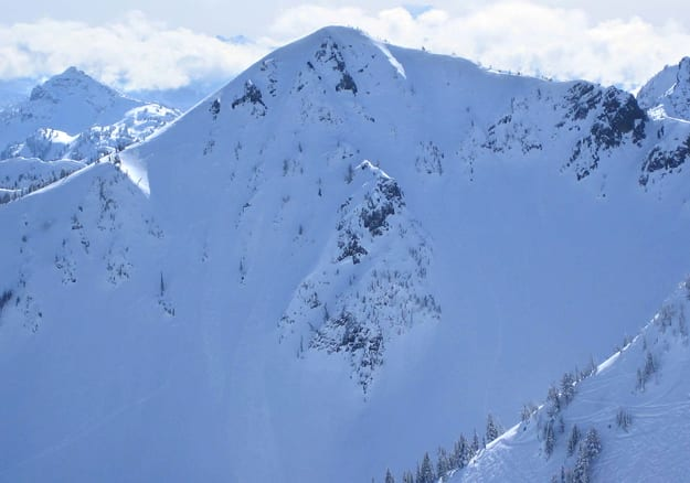 Silver King Runs Crystal Mountain Ski Resort Pierce County Washington