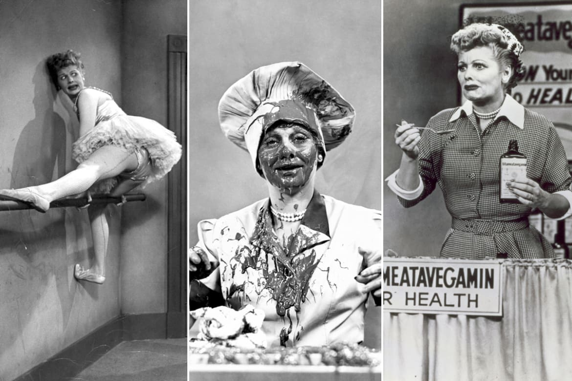 the significant contributions of lucille ball She didn't have to 'splain it — lucille ball was a trailblazer.