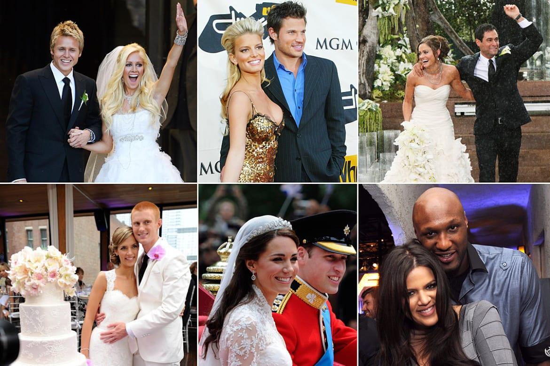 Kim Kardashian\'s \'Fairytale Wedding\' and More Televised Nuptials: Photos