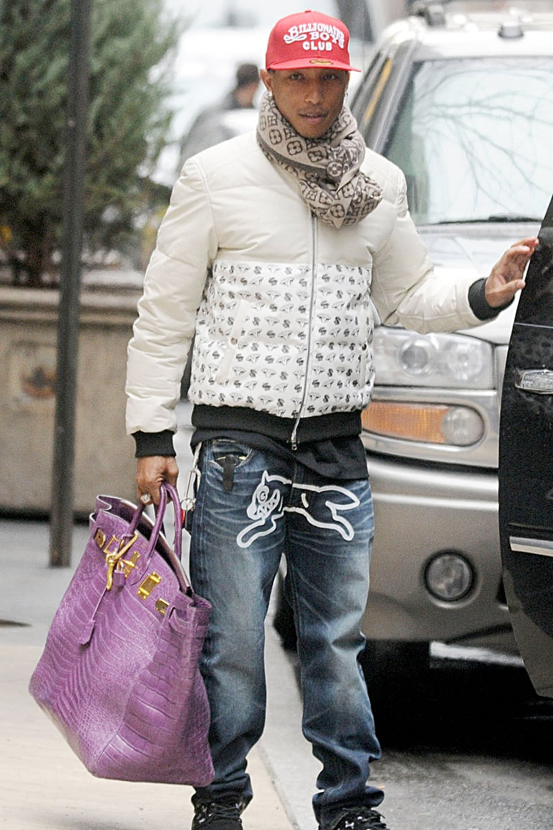 Pharrell Williams S Purple Hermes Birkin