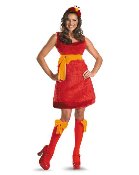 elmo - Skimpy Halloween Outfits