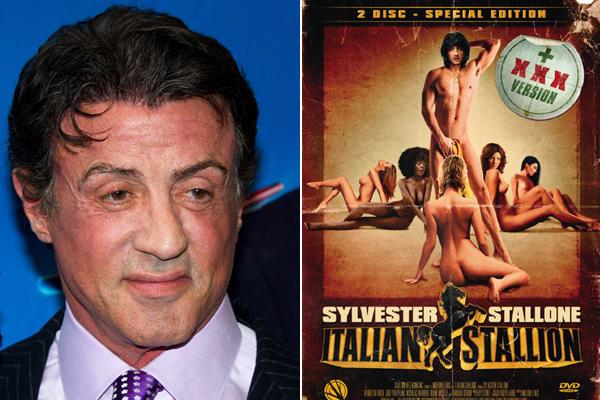 Sylvester stallone doing porn, leah dizon hot pictures