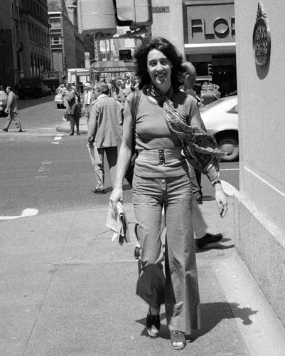 Nora ephron s life in photos when harry met sally to julie