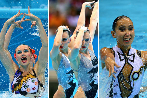 The 12 Craziest Synchronized Swimming Suits