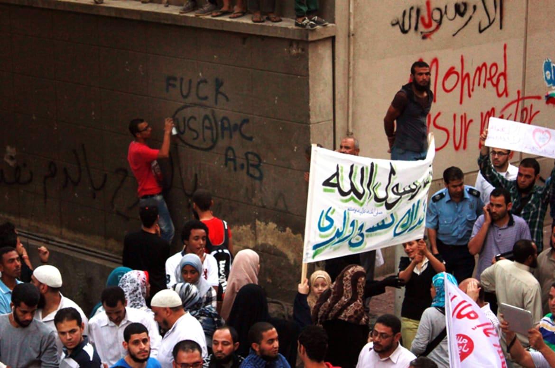 Striking photos of the libya attack ambassador chris stevens more ahmed sciox Choice Image
