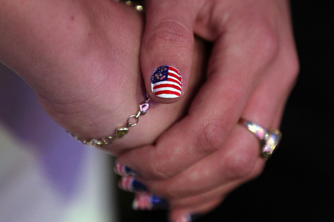 Katy Perry\'s Obamanicure & More Political Nail Art