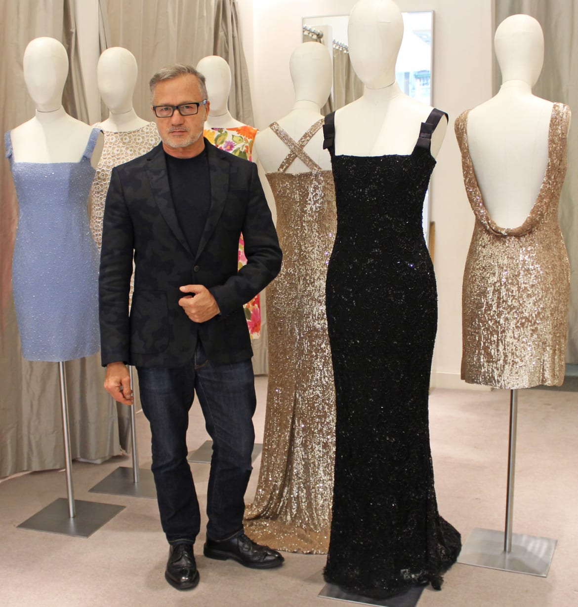 Jacques Azagury Was One Of Princess Diana S Favorite Designers For Red Carpet Events So It Came As No Surprise When The Makers New Biopic