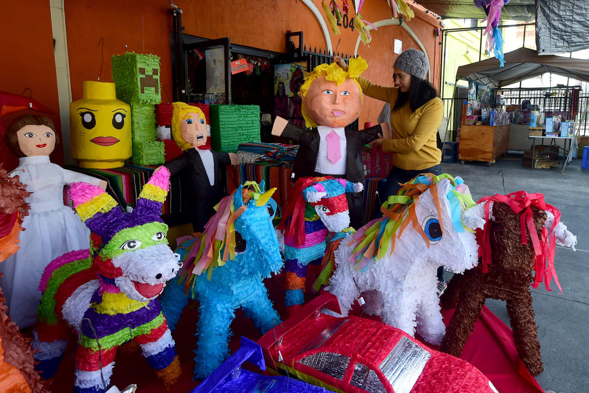 donald trump piñatas are yuge too photos