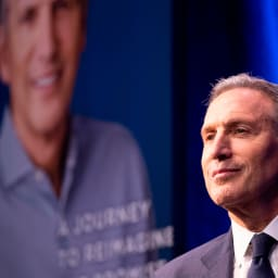 The View' Makes Howard Schultz Squirm: Can You Really 'Live With' Re