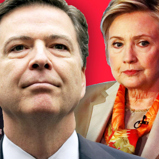 James Comey Is the Bad Boyfriend Trump Can't Get Over